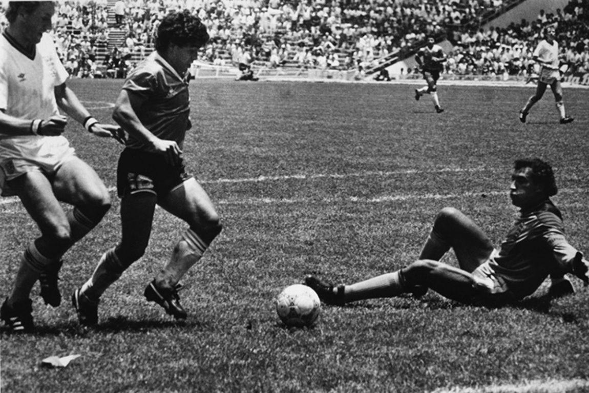 El gol de Maradona: como el amor cuando es amor