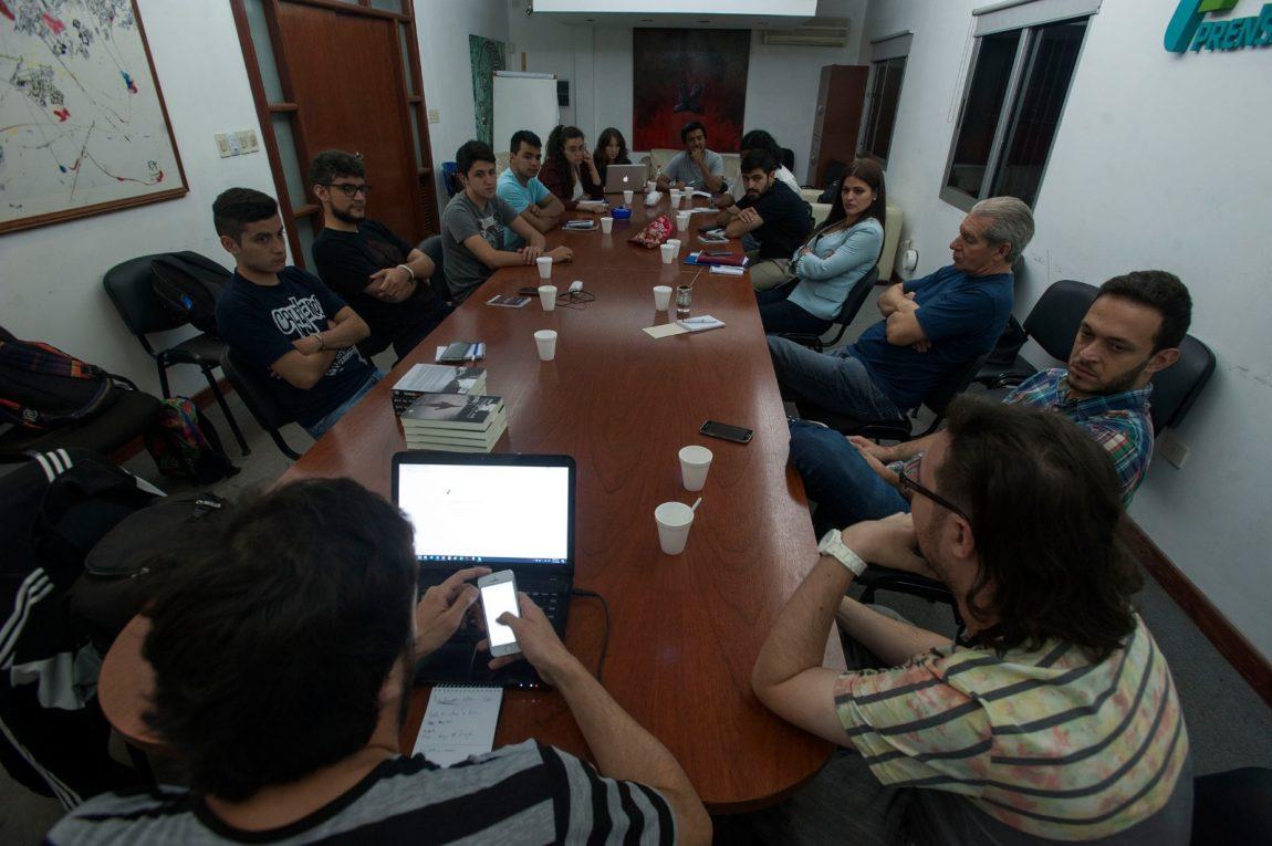 La redacción de Tucumán Zeta se volvió aula