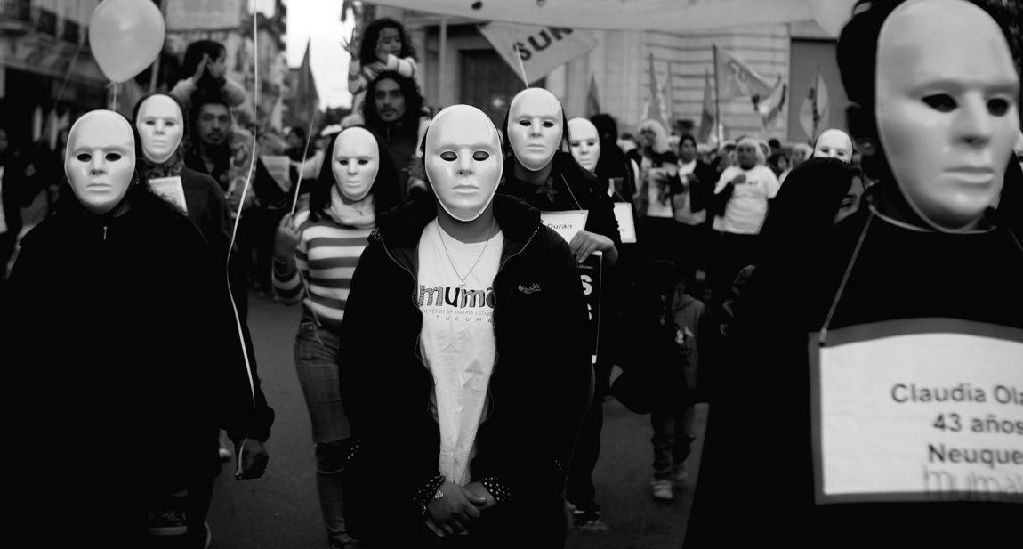Marchar por las chicas que nunca volvieron a sus casas