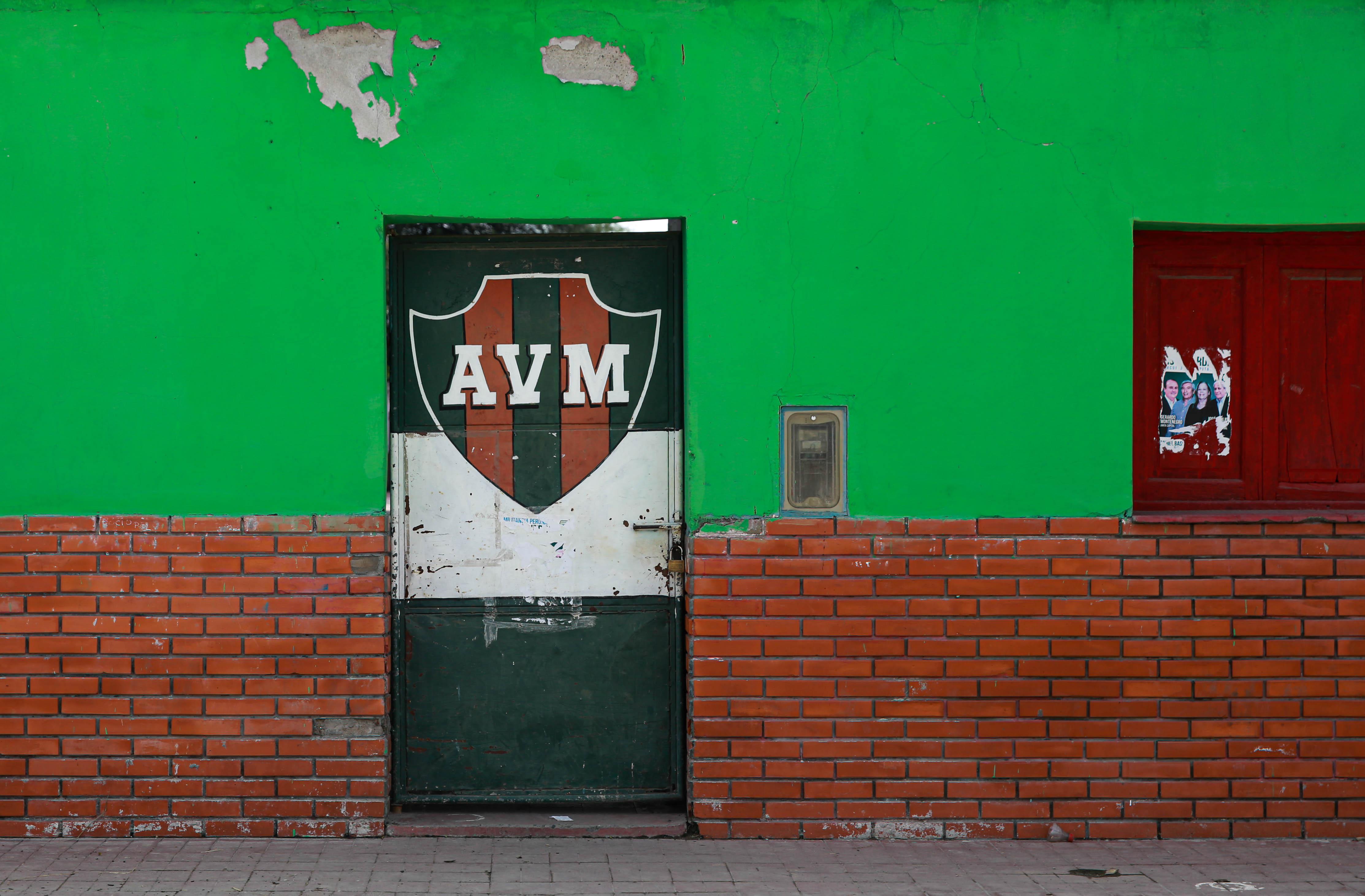 Club Villa Mercedes, ubicada enfrente de la casa de Koli Arce.